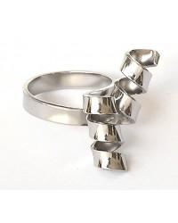 anello con spirali