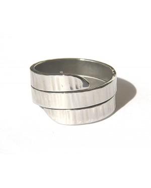 anello a fascia mm4 doppio giro ribattuta