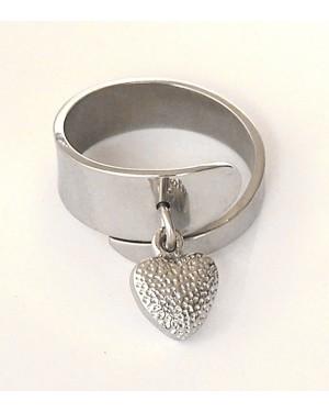 anello sagomato con 1 pendente