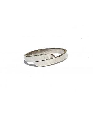 anello a fascia 3mm. ribattuta