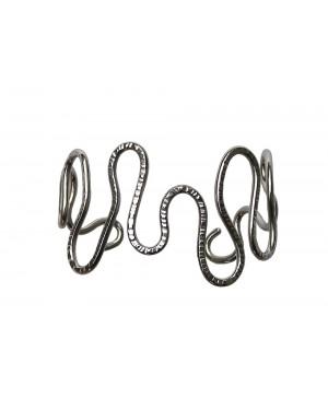 Bracciale acciaio inox serpentina